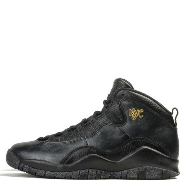 【EST】Nike Air Jordan 10 Retro NYC 310805-012 紐約 黑金 男鞋 [NI-4400-002] G0502 0