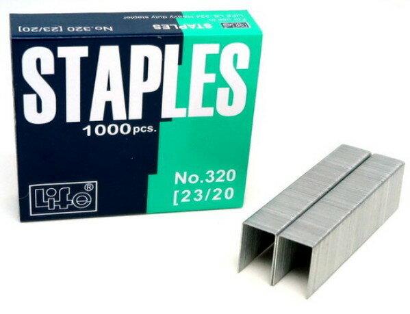 聯盟文具:徠福2320釘書針NO.320(1小盒入)