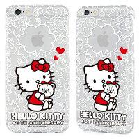 凱蒂貓週邊商品推薦到日光城。GARMMA Hello Kitty iPhone 6 4.7吋保護硬殼-四十周年A款