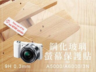 日光城。Sony A5000鋼化玻璃螢幕保護貼,9H 0.3mm A6000 NEX-3N 可用 索尼相機