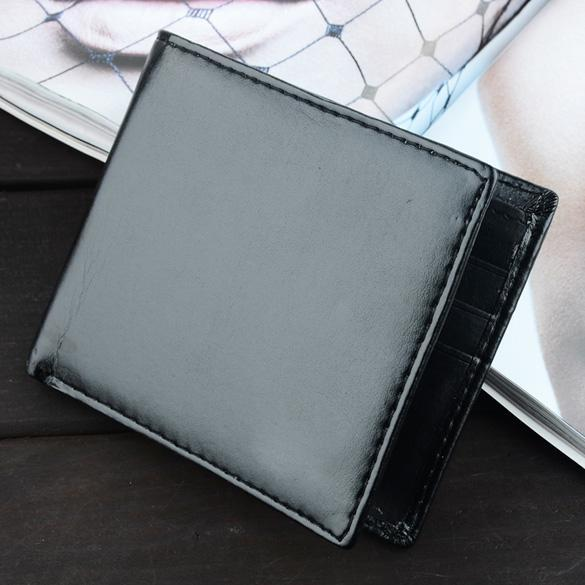 Mens Synthetic Leather Wallet Credit/ID Cards Holder Purse 2