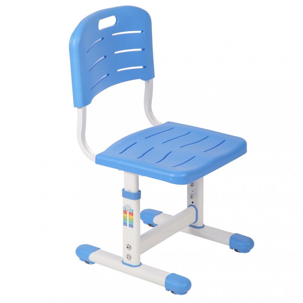fc926f22f39 Blue Adjustable Children s Desk Chair Set Child Study Desk Kids Study Table  XLQ 2