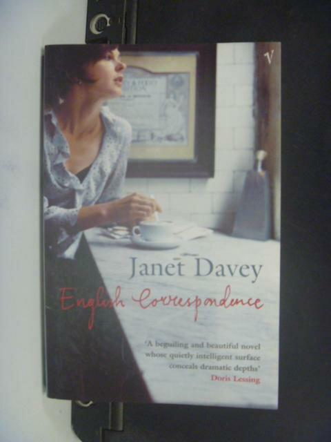 【書寶二手書T8/原文小說_HHE】English Correspondence_Janet Davey