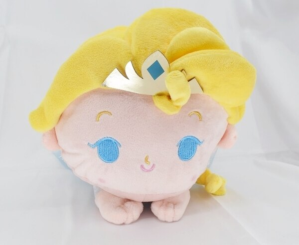 X射線【C171630】冰雪奇緣艾莎公主30cm,絨毛填充玩偶玩具公仔抱枕靠枕娃娃