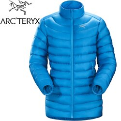 Arcteryx 始祖鳥 輕量無帽羽絨衣/850FP羽絨外套/保暖外套/登山/旅遊 Cerium LT 女 18036 下加州藍