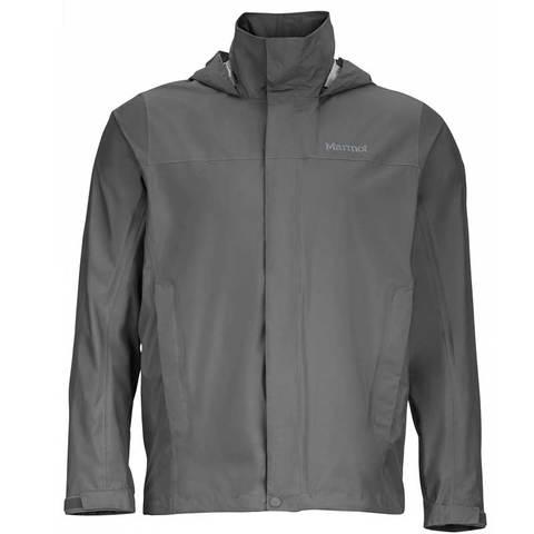 【【蘋果戶外】】Marmot41200-1415灰色美國男PreCip土撥鼠防水外套類GORE-TEX防風外套風衣雨衣風雨衣