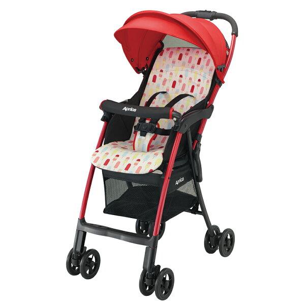 【麗嬰房】Aprica挑高型超輕量嬰幼兒手推車MagicalAirS新境界-輕雪糕RD