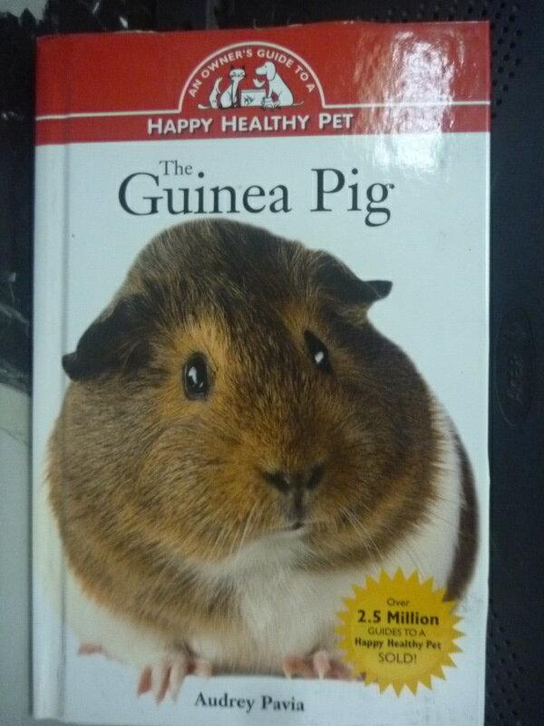 【書寶二手書T3/科學_HCN】Guinea Pig_Audrey Pavia