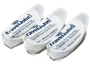 攜帶式尿袋-有夾鏈袋3入*『康森銀髮生活館』無障礙輔具專賣店
