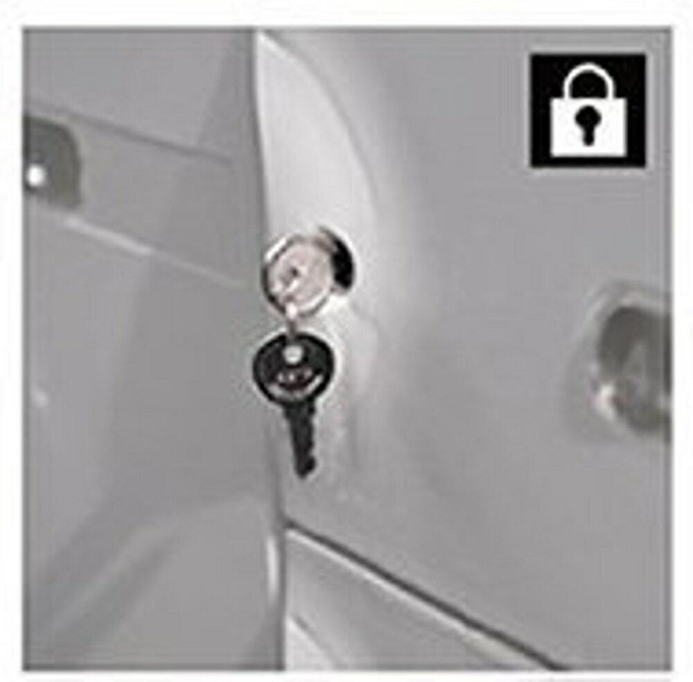 【哇哇蛙】樹德 SC 置物櫃 專用鎖頭 / 個 (櫥櫃/收納櫃/收納櫃/鞋盒/鞋架/衣物櫃)