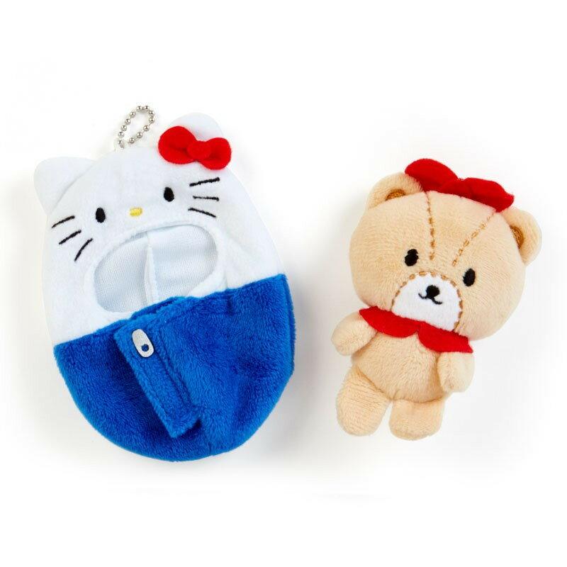Hello Kitty 造型玩偶吊鍊-睡袋,包包掛飾/鑰匙圈/吊飾,X射線【C582527】