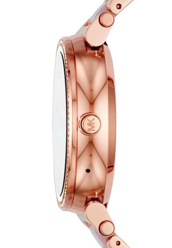精選現貨 美國正品 MICHAEL KORS Sofie Smartwatch MKT5041  玫瑰金觸控螢幕智能手錶