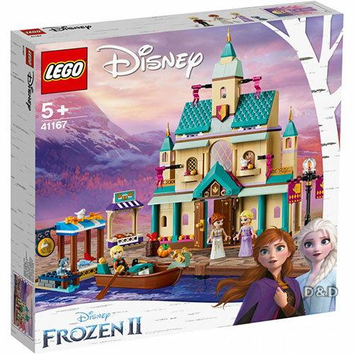 【雙12 SUPER SALE整點特賣12 / 04 10:00】樂高LEGO 迪士尼【冰雪奇緣2】獨賣組合(Arendelle Castle Villag+Olaf )-東喬精品百貨 1