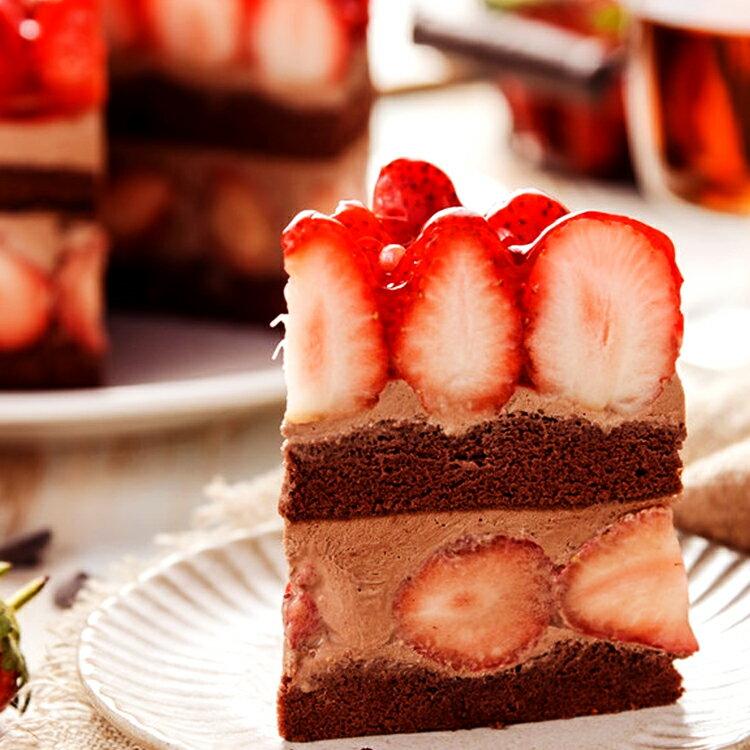 【詹姆士直播年菜】 6吋草莓修格拉~重達1100公克(內含50顆大湖草莓)滿滿維他命C★嚴選比利時65%巧克力★幸福的滋味【上發條直播推薦】 2