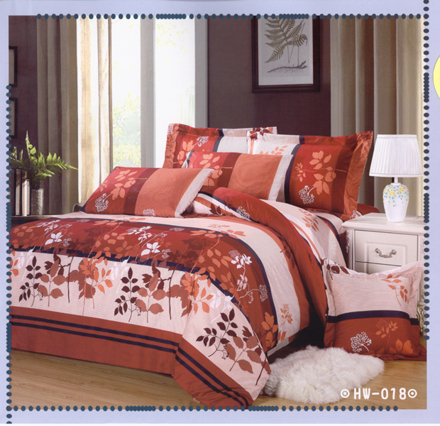✧臺灣製✧舒柔棉磨毛超細纖維床包組《HW-0018》5X6.2尺雙人床包組+兩用被 四件組◤彩虹森林◥