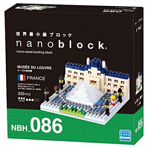 《 Nano Block 迷你積木 》NBH-086羅浮宮