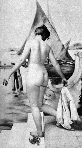 Bathing Nude 1902 Nat The Bath Nude Study 1902 By The St Louis Photographer Fritz W Guerin Poster Print by (18 x 24) 62ae0d3ecff8ec2de40c1ec6d9636b75