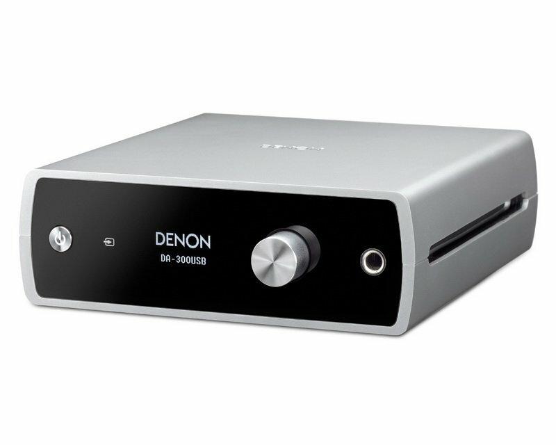 志達電子 DA-300USB(現貨供應) DENON 耳機擴大機 / USB DAC 最高24BIT/192KHZ 支援DSD