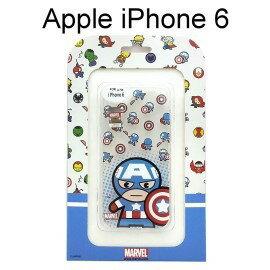 復仇者聯盟Q版透明軟殼 [美國隊長] iPhone 6 / 6S (4.7吋)【正版授權】