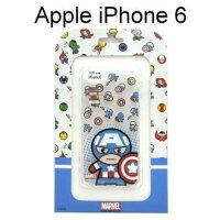 美國隊長周邊商品推薦復仇者聯盟Q版透明軟殼 [美國隊長] iPhone 6 / 6S (4.7吋)【正版授權】