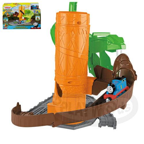 【Playwoods】[湯瑪士小火車]Take-n-play帶著走系列:綠蟒驚險軌道遊戲組Rattling Railsss(費雪牌Fisher Price/Thomas&friends)