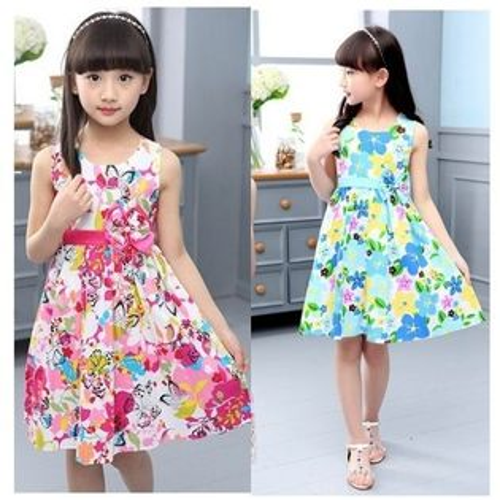 中大童短袖洋裝連身裙背心裙童裝MC32003好娃娃