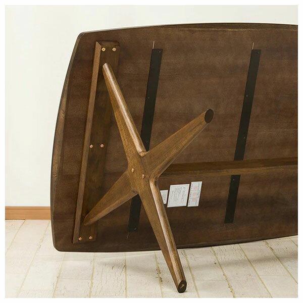 ◎橡膠木質餐桌 RELAX 160 MBR NITORI宜得利家居 6