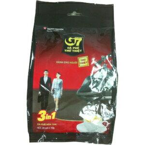 G7 三合一即溶咖啡 320g(16gx20包)/袋