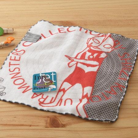 日本毛巾:鹹蛋超人_宇宙警備隊23*23cm(童巾、紗布毛巾、加藤真治、超人力霸王--taoru日本毛巾)