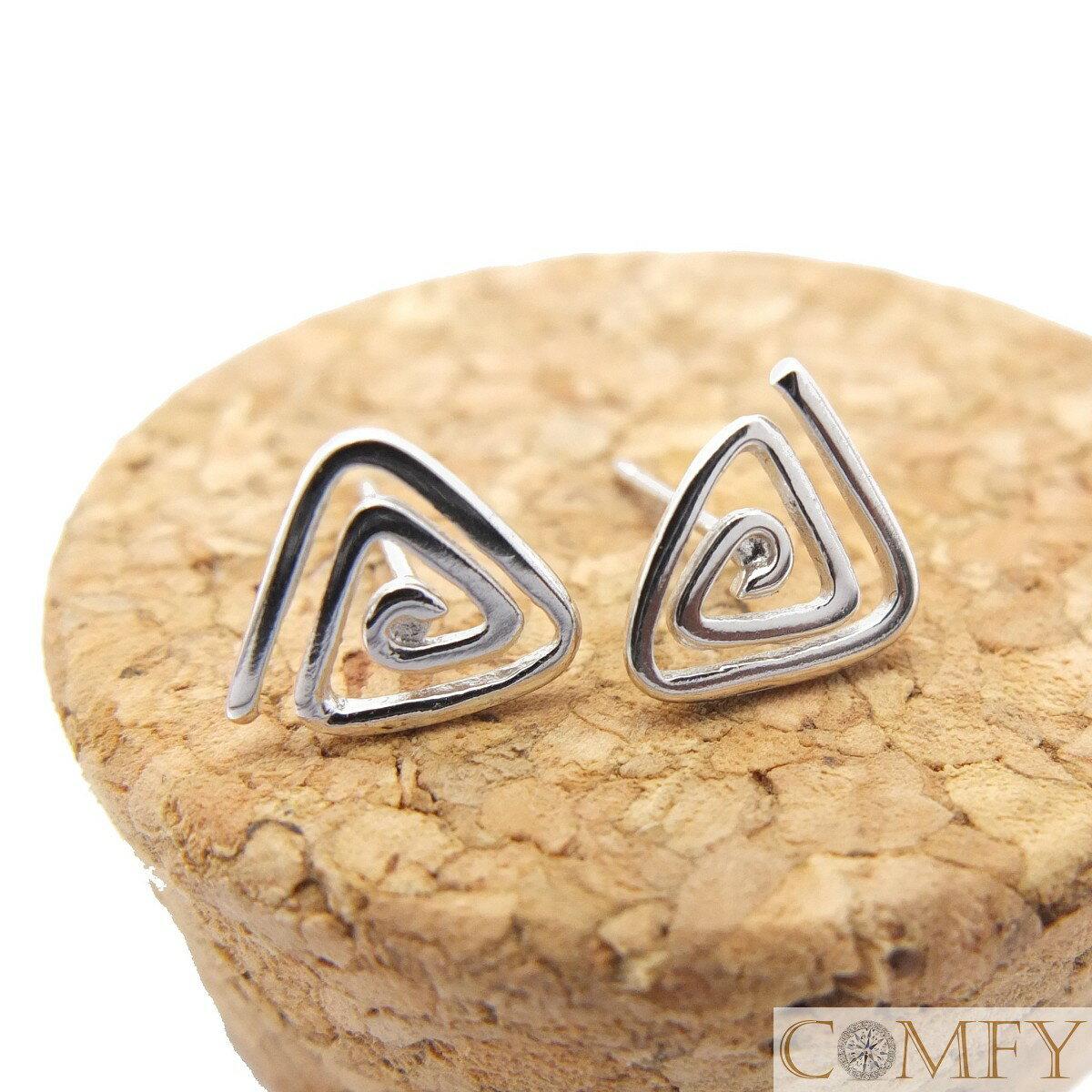 【Comfy禾米】~標記美好*回憶指針~ 925純銀耳環