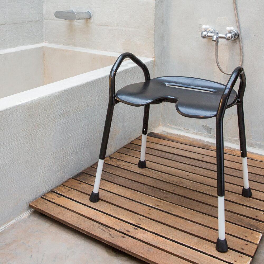 【樂活動】黔黑樂享寬座雙高扶手洗澡椅 0