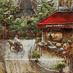 Metal Art- 巴黎鐵塔旁的餐廳