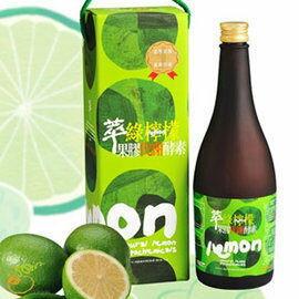 12瓶特惠達觀萃綠檸檬果膠代謝酵素750ml瓶