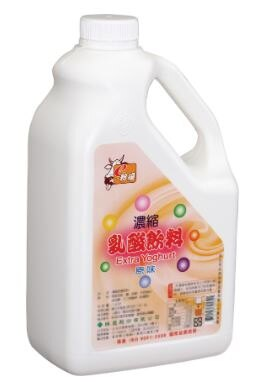 綠盟【E粉優 乳酸風味糖漿系列】乳酸風味糖漿 2.5kg/瓶