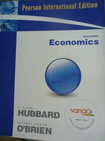 ~書寶 書T3/大學商學_QAZ~Economics_Hubbard OBrien_2 e