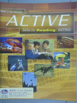 【书宝二手书T1/语言学习_QNZ】Active Skills for Reading: Intro_Neil J. Anderson_样书_有光盘