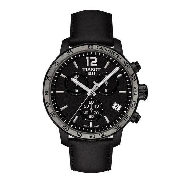 TISSOT天梭T0954173605702經典計時腕錶/黑面灰框42mm