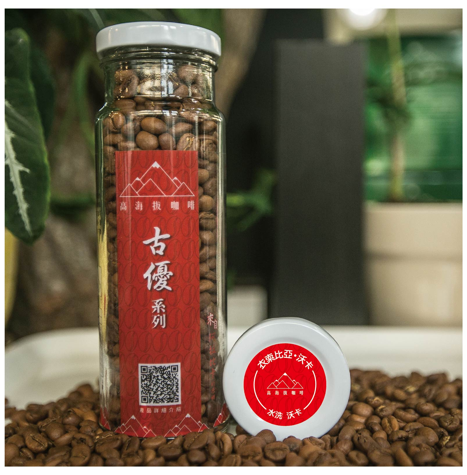 古優系列/水洗沃卡 (1/4磅咖啡豆/1/4磅咖啡粉/浸泡式-10入/掛耳式-10入)