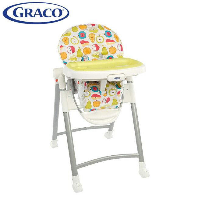 Graco 可調式高低餐椅Contempo水果王國