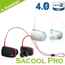 志達電子 AS8P Avantree Sacool Pro 防潑水入耳後掛式運動藍芽4.0耳機