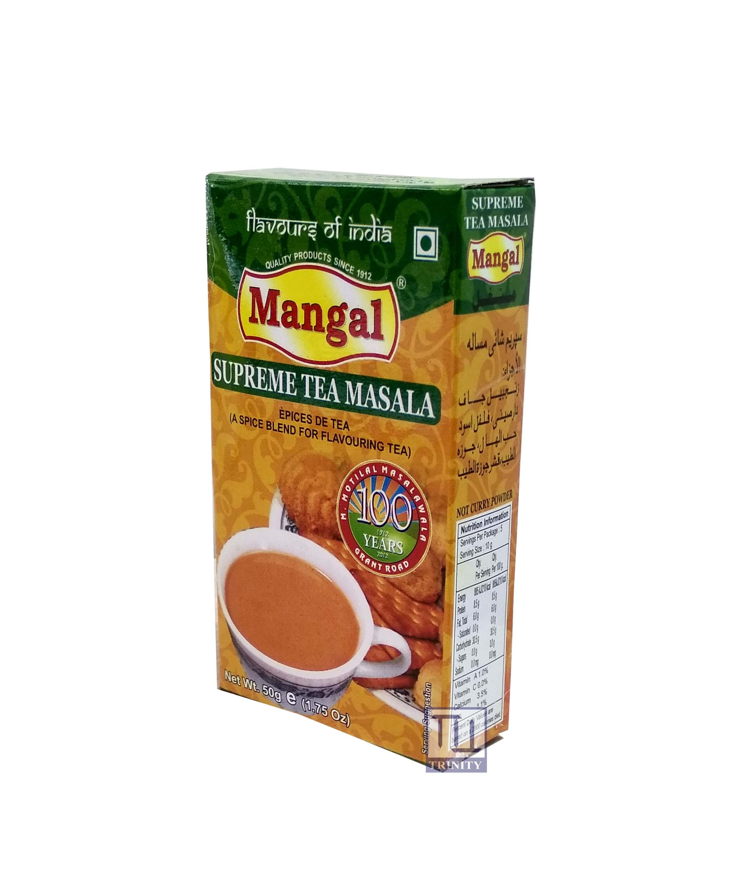 Mangal Supreme Tea Masala  印度香料粉 (煮奶茶用)