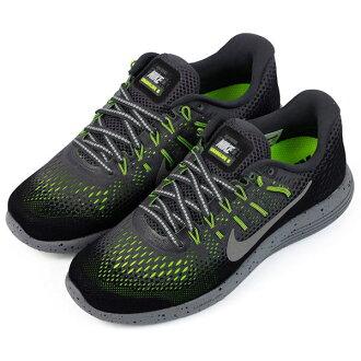 【NIKE】WMNS NIKE LUNARGLIDE 8 SHIELD 運動鞋 慢跑鞋 黑色(女)849569007