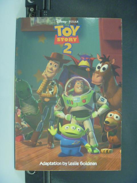 【書寶二手書T9/原文小說_IBB】Toy Story 2_Leslie Goldman