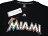 Shoestw【6730201-006】MLB 美國大聯盟 MAJESTIC 短袖 棉 T恤 馬林魚隊 LOGO 黑色 1