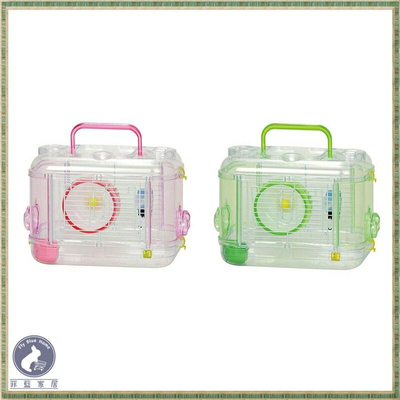 【菲藍家居】日本 WILD SANKO 愛鼠晶瑩屋 MINI C101 C102 透明鼠籠 倉鼠籠 鼠籠 單層鼠籠