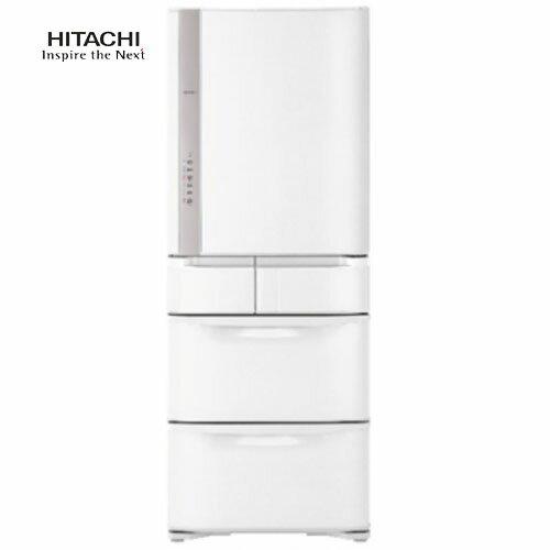 【送20CM雙耳湯鍋】HITACHI 日立 R-S57GJ/RS57GJ 星燦白 557L 五門 變頻電冰箱 日本製
