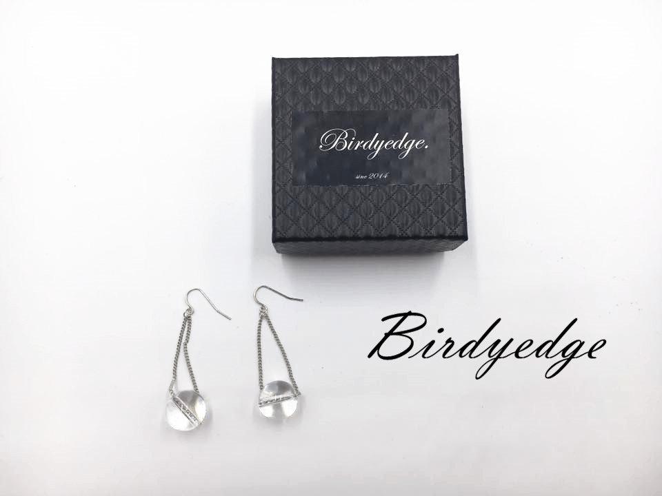 ~Birdy Edge~ 女性   水晶球 玻璃球 耳環免