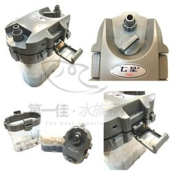 [第一佳 水族寵物] 台灣SEVEN STAR七星 前置過濾 空桶 含濾材(12/16)外置過濾器 SF-7101