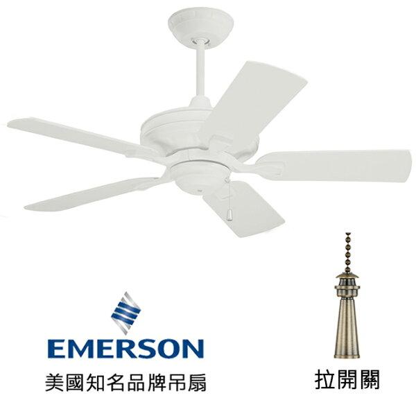 "[topfan]Emerson42""Bella42英吋吊扇(CF442SW)砂白色(適用於110V電壓)"