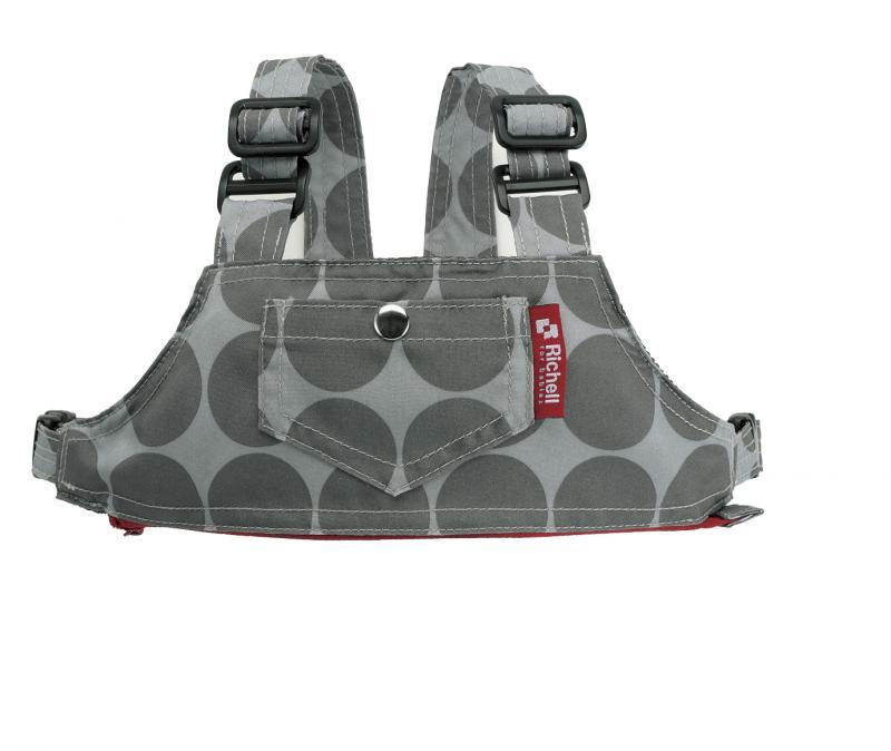 日本 Richell POUCHU椅子用固定帶兼防走失帶